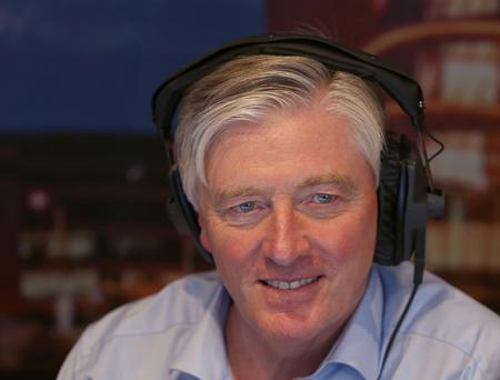Pat Kenny, pictured on his first day as a presenter with Newstalk radio. Picture: Damien Eagers / Irish Independent
