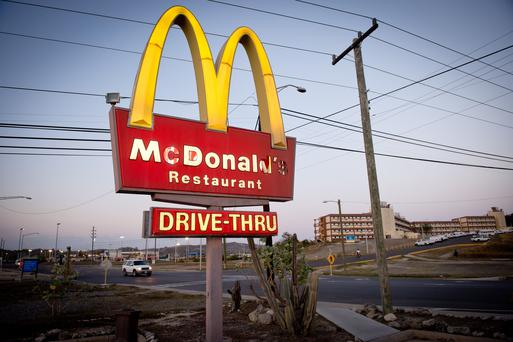 Purchasing a franchise, such as McDonald's, is one way to start a business