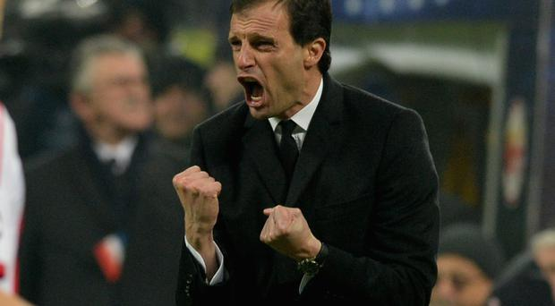 Reports suggest Tottenham have already reached an agreement with Massimiliano Allegri to replace Tim Sherwood as manager of the north London club. Photo by Claudio Villa/Getty Images