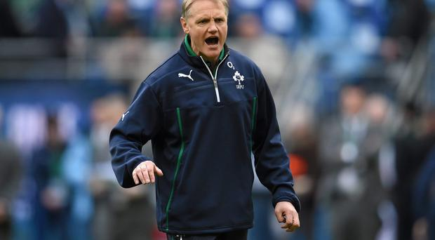 Joe Schmidt is eyeing a World Cup semi-final but is wary of the challenges Ireland will face to reach that point. Photo: Stephen McCarthy / SPORTSFILE