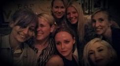 The selfie the actress posted last night