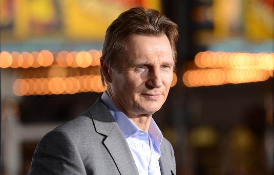 WESTWOOD, CA - FEBRUARY 24: Actor Liam Neeson attends the premiere of Universal Pictures and Studiocanal's 'Non-Stop' at Regency Village Theatre on February 24, 2014 in Westwood, California. (Photo by Jason Merritt/Getty Images)
