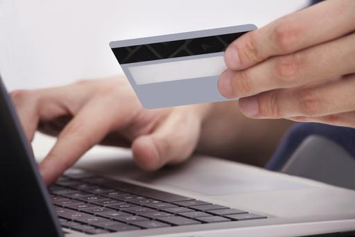 False or stolen credit cards are being used