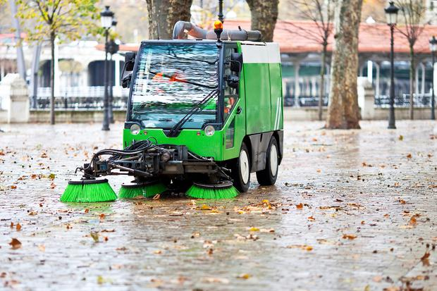 There has been a slight increase in cleanliness levels, but the number of litter wardens is down. Thinkstock Images