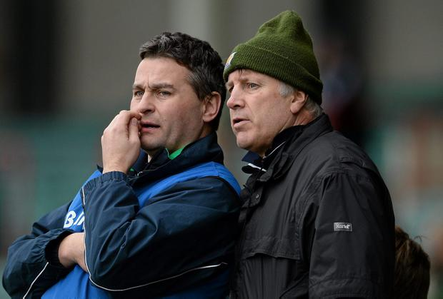 Limerick joint managers TJ Ryan, left, and Donal O'Grady