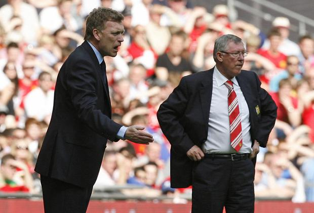 David Moyes was handed the MUFC manager's job by Alex Ferguson, but it didn't work out