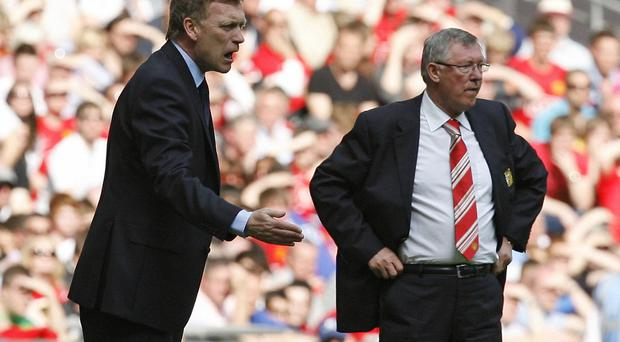 David Moyes was unexpectedly handed the manager's job by Alex Ferguson (Photo credit IAN KINGTON/AFP/Getty Images)
