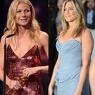 Both Paltrow (left) and Aniston have had serious relationships with Brad Pitt