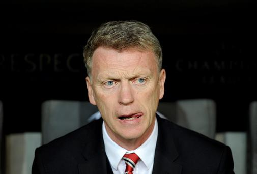 Manchester United's share price has risen since the sacking of David Moyes
