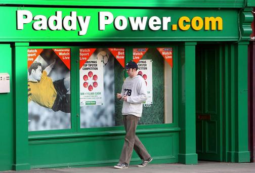 Paddy Power will have to pay tax on its profits from online betting here for the first time