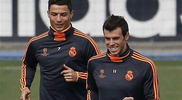 Ronaldo faces a late fitness test while Bale has been ruled out of tonight's match