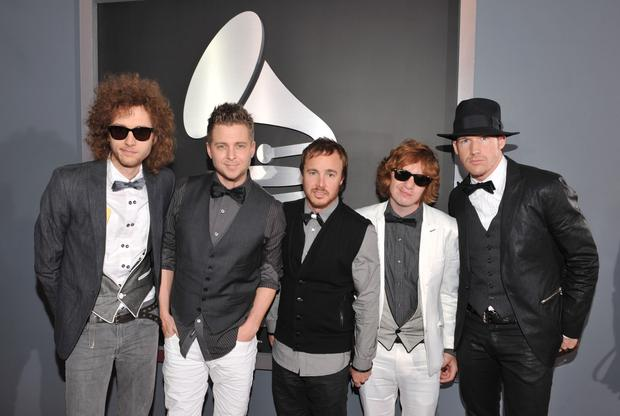 **EDITORIAL USE ONLY. NO COMMERCIAL USE** Musicians OneRepublic arrive to the 51st Annual GRAMMY Awards held at the Staples Center on February 8, 2009 in Los Angeles, California. 51st Annual GRAMMY Awards - Red Carpet Staples Center Los Angeles, CA United States February 8, 2009 Photo by Lester Cohen/WireImage.com To license this image (16528868), contact WireImage.com