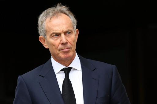 Tony Blair: has called for air strikes against ISIS fighters.