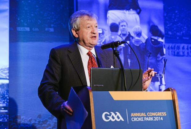GAA director general Páraic Duffy says the future of the International Rules 'will be determined by what happens this year'. Photo: Ray McManus / SPORTSFILE