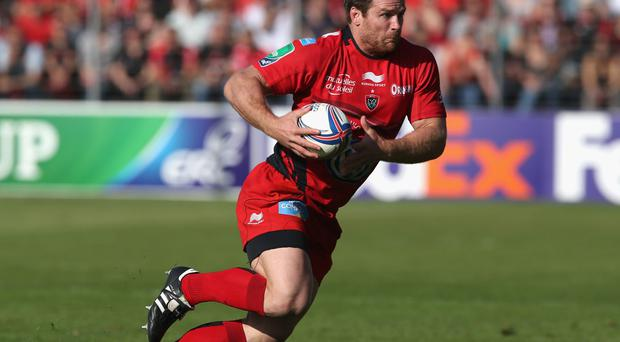 Toulon's Craig Burden will face his old master BJ Botha when his side meets Munster on Sunday. Photo by David Rogers/Getty Images