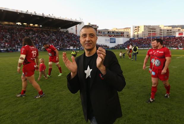 Toulon skirted the salary ruling most prominently when billionaire owner Mourad Boudjellal ponied up to bolster Jonny Wilkinson's salary. Photo: David Rogers/Getty Images