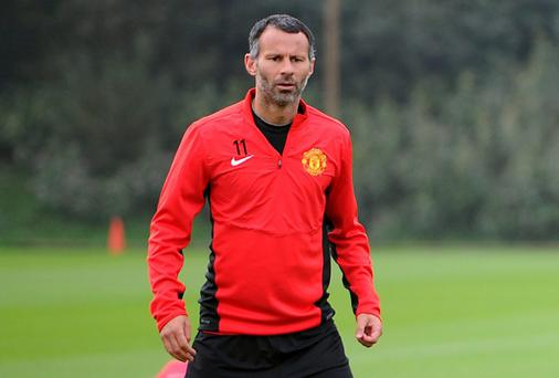 Ryan Giggs has given his first interview as Manchester United's interim manager following David Moyes's sacking
