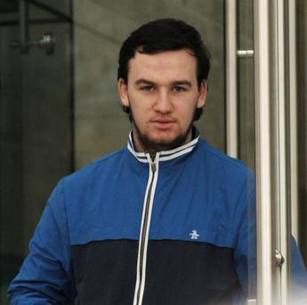 Donal Murray caused €240 of damage in the shop