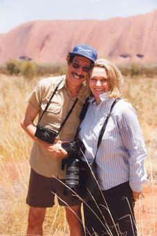 Rick Smolan and Robyn Davidson today