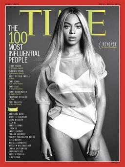 Beyonce's time cover