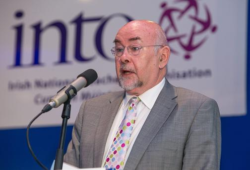 Minister for Education Ruairi Quinn probably thinks religion belongs exclusively in the home and not in school. Photo: Pat Moore.