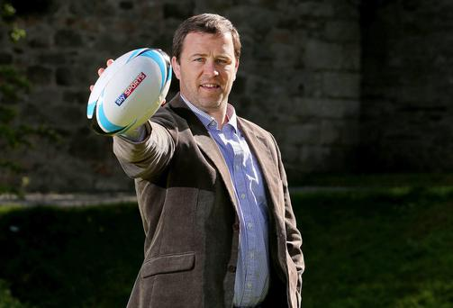 IRUPA player development manager Marcus Horan