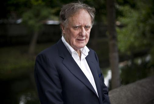 Broadcaster and columnist Vincent Browne