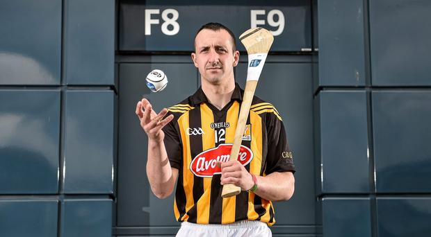 Kilkenny's Eoin Larkin is visiting a specialist today to determine whether his wrist injury will keep him out of next weekend's clash with Tipperary. Photo: Brendan Moran / SPORTSFILE