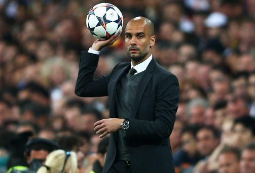 Pep Guardiola needs his Bayern Munich side to make a statement against Real Madrid at the Allianz Arena next week. Photo: Paul Gilham/Getty Images