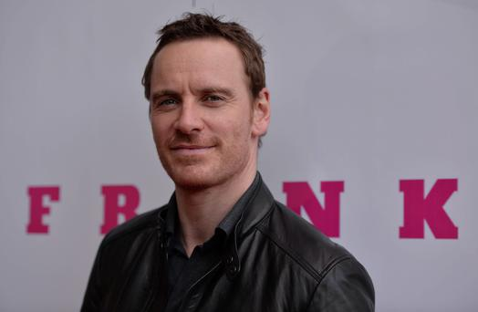 Michael Fassbender attending Irish film premiere of Frank at Lighthouse Cinema, Smithfield, Dublin