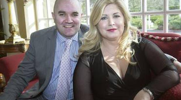 Dolledup.ie founders Anita Whyte and Paul Moran