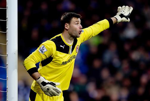 Goalkeeper: David Marshall (Cardiff City) 143 saves - No goalkeeper has made more saves than Marshall. Without his interventions, Cardiff would probably have been relegated before the clocks went forward