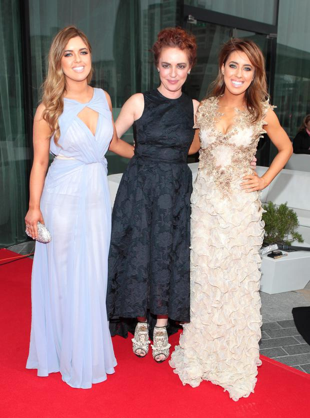 Bonnie, Morah and Lottie Ryan pictured at The Peter Mark Vip Style Awards 2014 at The Marker Hotel Dublin Picture:Brian McEvoy No Repro fee for one use