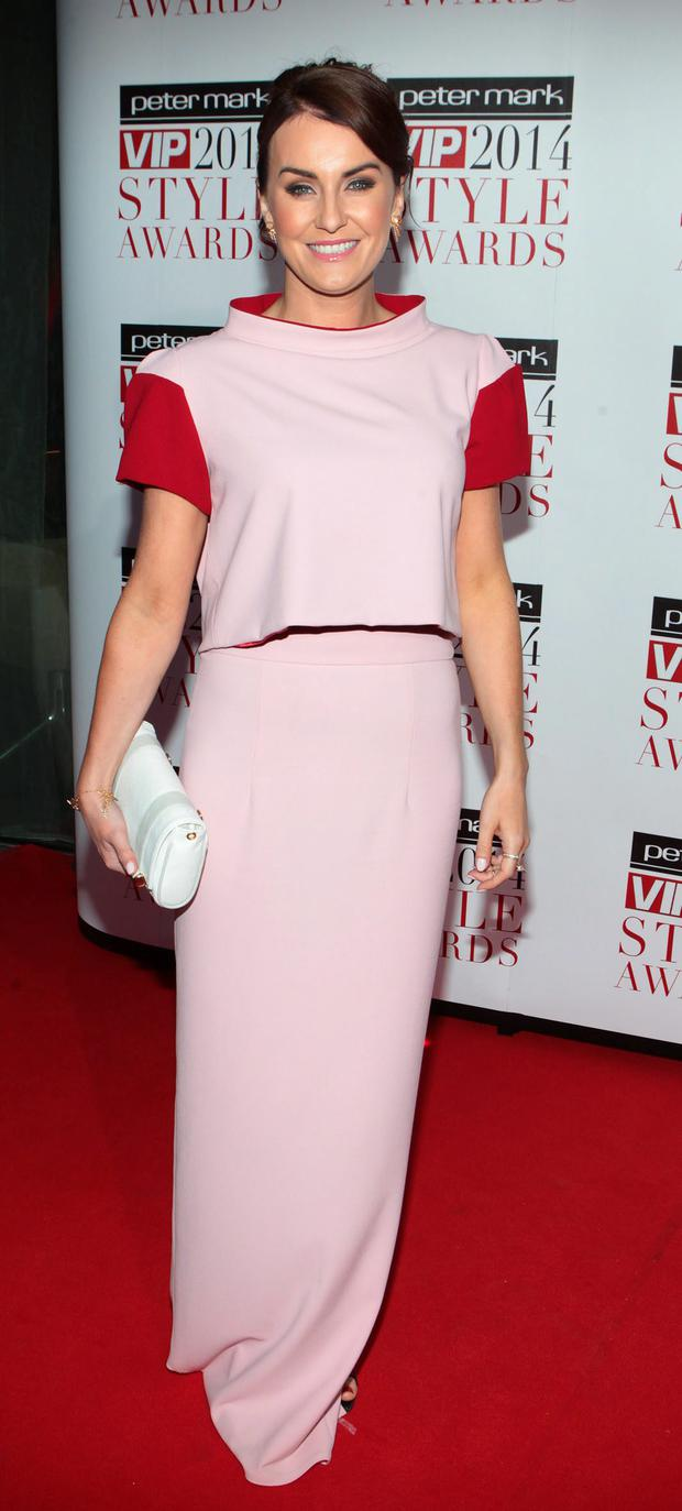 Mairead Farrell pictured at The Peter Mark Vip Style Awards 2014 at The Marker Hotel Dublin Picture:Brian McEvoy No Repro fee for one use