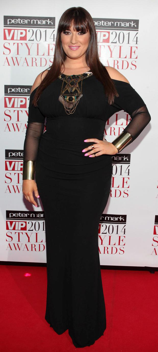 Elaine Crowley pictured at The Peter Mark Vip Style Awards 2014 at The Marker Hotel Dublin Picture:Brian McEvoy No Repro fee for one use