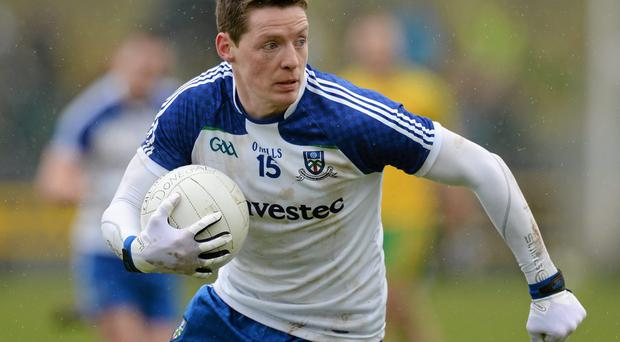 Conor McManus will be a key player as Monaghan bid to overcome Donegal. Photo: Oliver McVeigh / SPORTSFILE