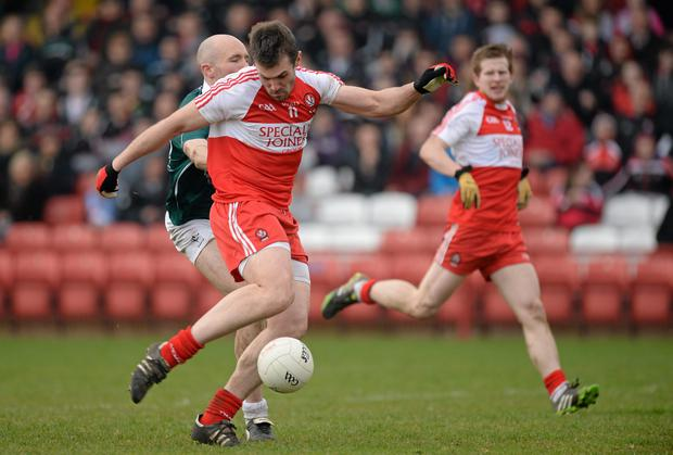 Mark Lynch has been in formidable form for Derry this year