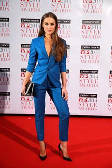 Roz Purcell at the 2014 VIP Style Awards at the Marker Hotel, Dublin. Picture:Arthur Carron