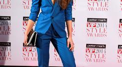 Roz Purcell wore a design from her debut suit range Scribe By Roz to the VIP Style Awards. Her decision to shun a long gown earned her major kudos.