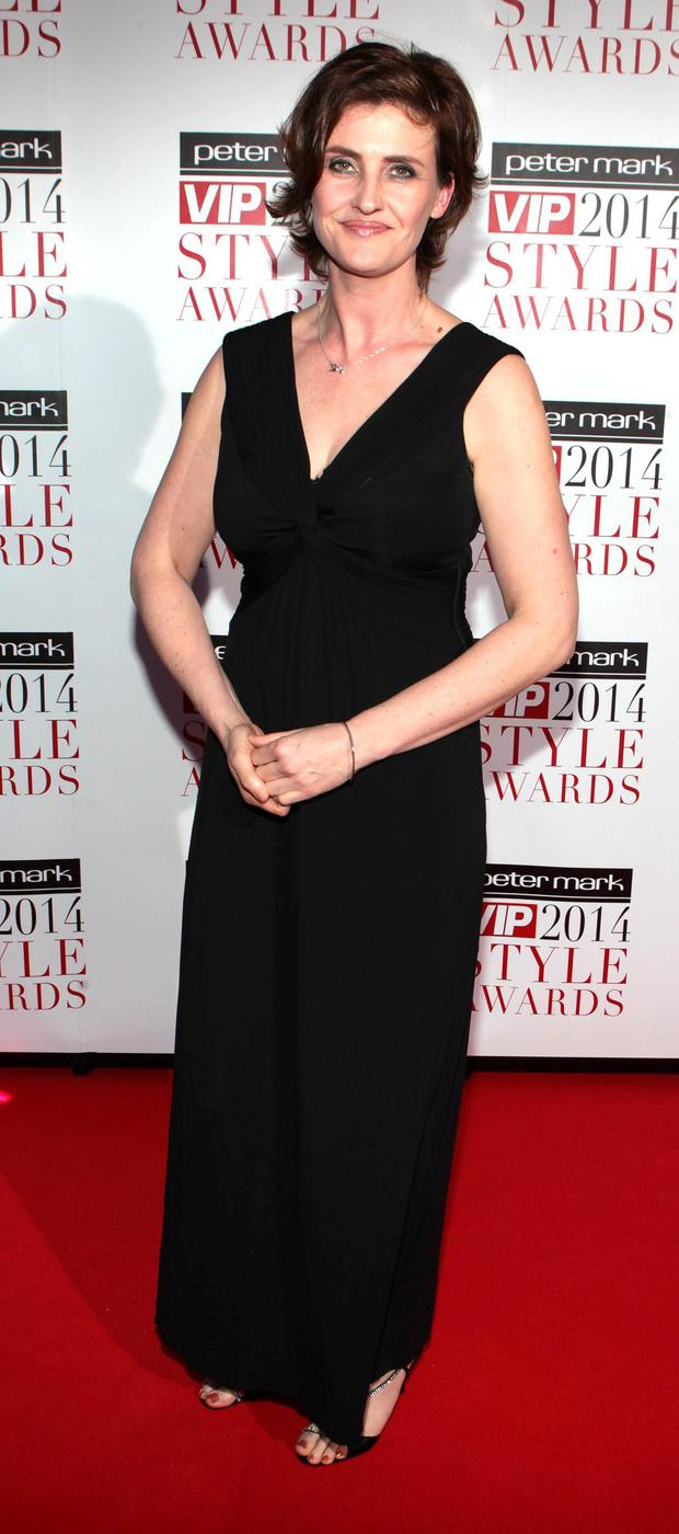 Anna Nolan pictured at The Peter Mark Vip Style Awards 2014 at The Marker Hotel Dublin Picture:Brian McEvoy No Repro fee for one use