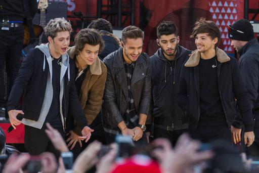 One Direction will play three nights at Croke Park