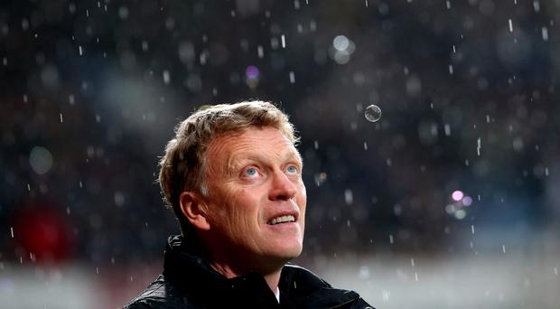 The irony is that while David Moyes didn't actually inherit a mess, he is leaving one behind him. Photo: Julian Finney/Getty Images