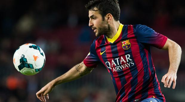 Manchester United could be set to make another attempt to prise Cesc Fabregas from Barcelona