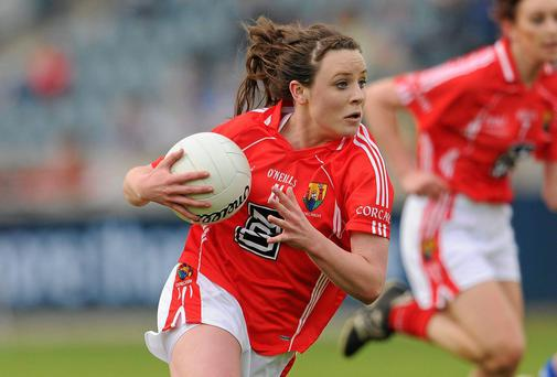 Orlagh Farmer in action for Cork