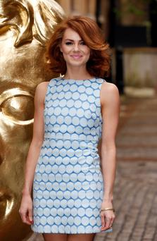 Kara Tointon arrives at the BAFTA Television Craft Awards held at The Brewery, Chiswell Street, London