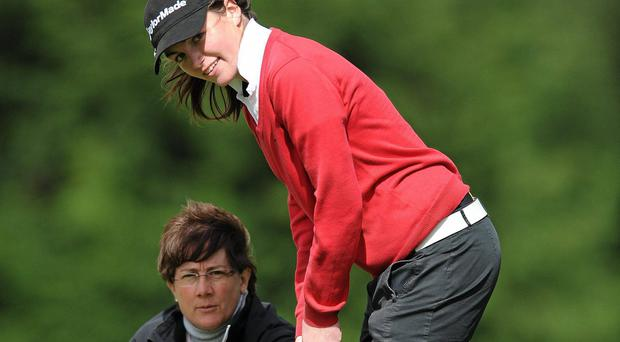 Chloe Ryan achieved fourth place in the Scottish Ladies strokeplay championship