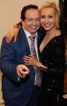 Marty Morrissey and Emma O Driscoll at The Peter Mark Vip Style Awards 2014 . Pic: Brian McEvoy