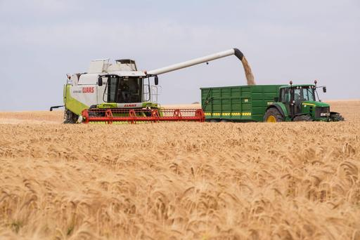 The turning of the combine for the winter barley seems a long time ago