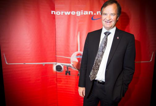 CEO of Norwegian Air Shuttle, Bjoern Kjos