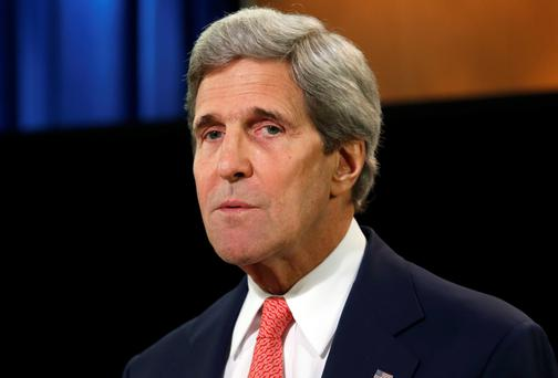 John Kerry: frustrated. Reuters